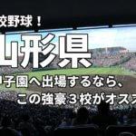 「高校野球」山形県で甲子園へ出場したいなら、この強豪3校へ進学しなさい!そのおすすめ理由も解説