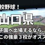 「高校野球」山口県で甲子園へ出場したいなら、この強豪3校へ進学しなさい!そのおすすめ理由も解説