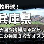 「高校野球」兵庫県で甲子園へ出場したいなら、この強豪3校へ進学しなさい!そのおすすめ理由も解説