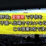 「高校野球」愛媛県で子供を甲子園へ出場させたいなら、この強豪3校で決まり!